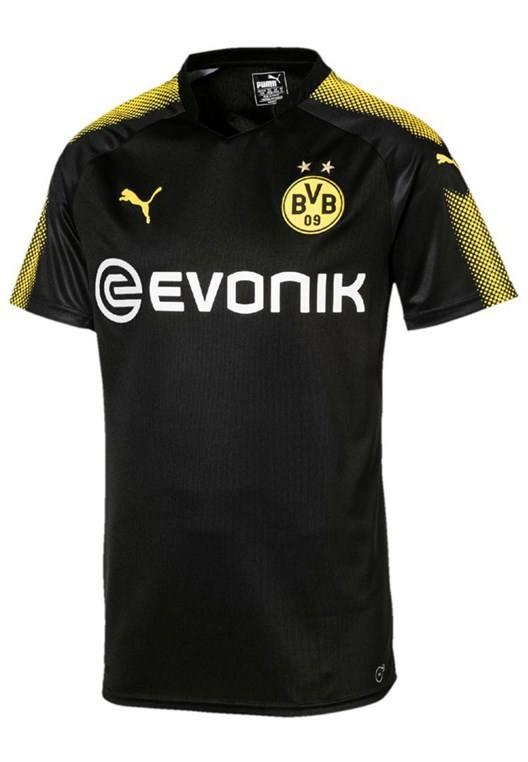 Puma BVB Herren Auswärts Trikot 2017/18 schwarz/gelb