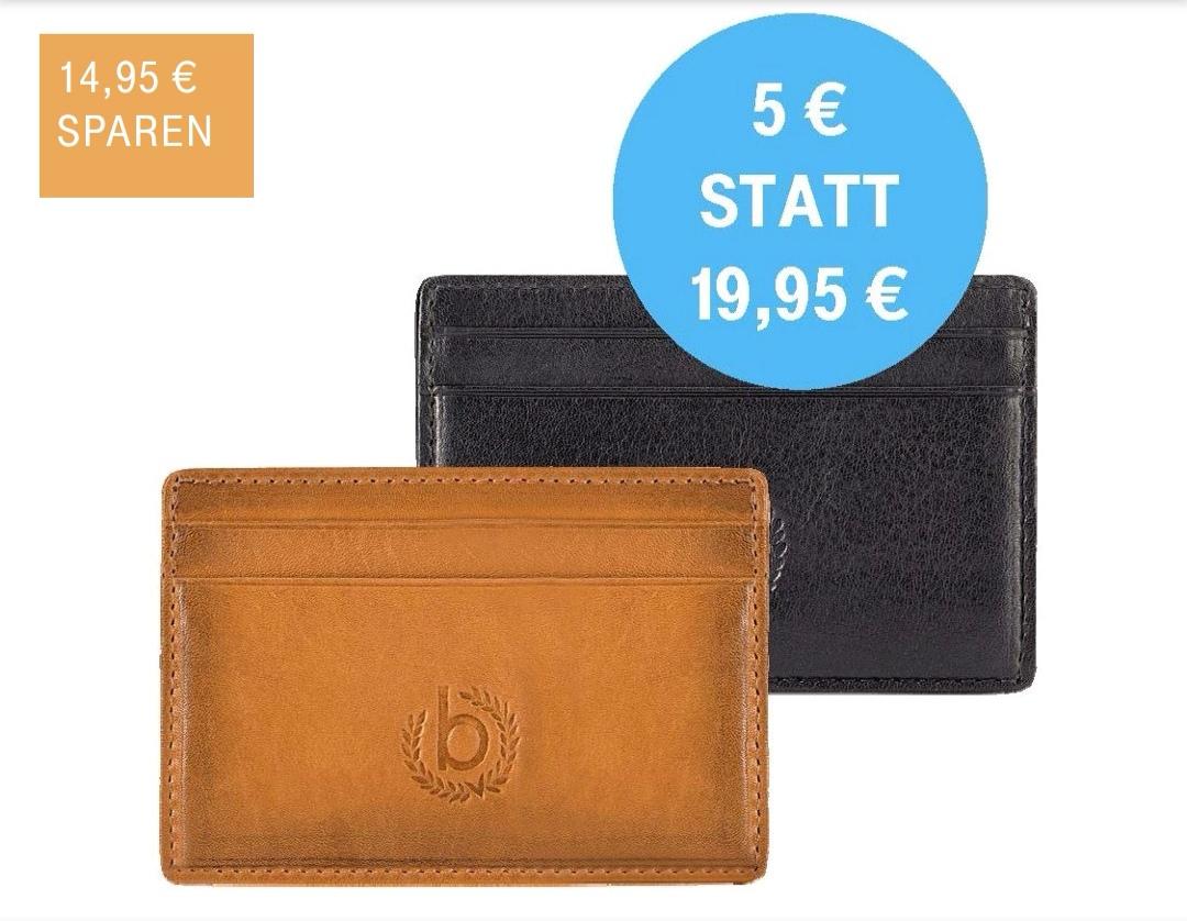 Bugatti Kreditkarten Etui in der Telekom Shop App für 5€