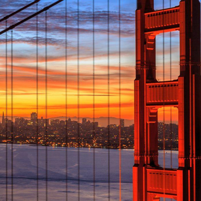 Flüge: Kalifornien [Mai - Februar & Weihnachten & Silvester] - Hin- und Rückflug mit der Star Alliance von Amsterdam nach San Francisco oder San Jose (CA) ab nur 307€ inkl. Gepäck