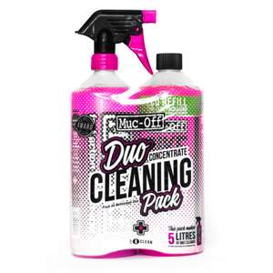 Muc Off Konzentrat & Bike Cleaner (je 1 Liter) im Duo Cleaning Pack