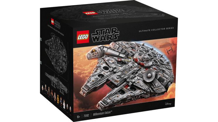LEGO Star Wars 75192 Millennium Falcon wieder bei Toys'r'us für 799,99 Euro erhältlich