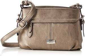 ( Amazon Prime ) Damen Handtasche Crossbag altsilber Gabor 7262-15 Crosser LISA