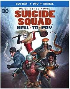 Suicide Squad: Hell to Pay (Blu-ray + DVD + UV Copy)