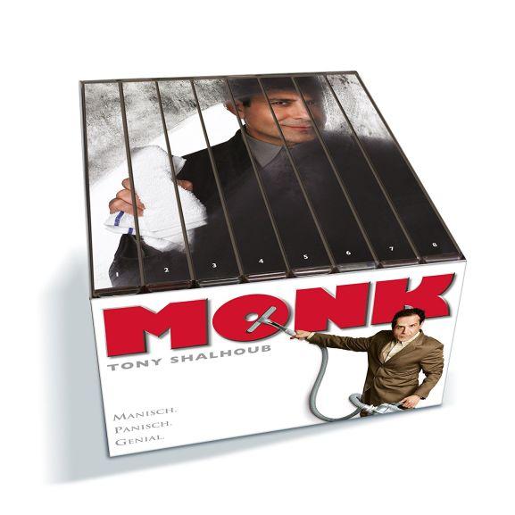 Monk - Die komplette Serie für 29,04€, Eine schrecklich nette Familie - Die komplette Serie für 27,38€ u.a. Boxen (MacGyver, A-Team) @Thalia