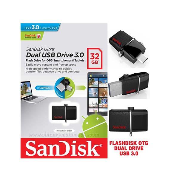 [Real Gifhorn] 32GB SanDisk Ultra Dual USB Drive 3.0 USB Stick mit MircoUSB OTG