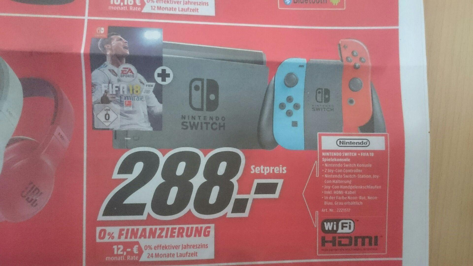 [Lokal] Media Markt Belm-Osnabrück Nintendo Switch inkl Fifa 18