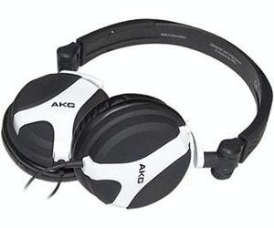 [cyberport]  AKG Harman K 518 DJ -  Faltbarer On Ear  Kopfhörer (Schwenkbare Ohrmuscheln) in weiß-schwarz