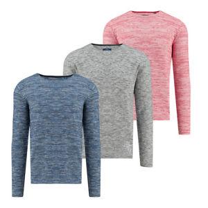 100% Baumwolle Tom Tailor Herren Pullover Grau Blau Rot
