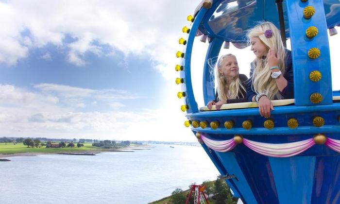 Wunderland Kalkar 1-3 Nächte mit All incl. light + Eintritt in den Park für 2 Erwachsene und 1-2 Kinder