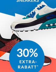 30% Rabatt auf ausgewählte Sneakers (auch Sale) + 5€ on top ab 50€ bei Engelhorn