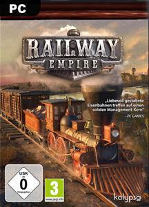 [ebay Italien] Railway Empire Steam Key für 14,50