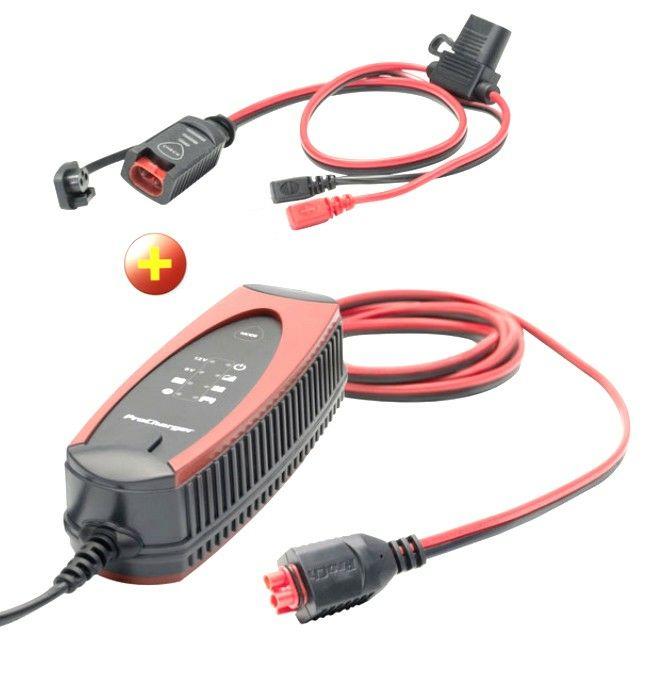 ProCharger 1000 Motorrad-Batterieladegerät + gratis ProCharger Ladeampel offline bei Louis, online plus 4,95€ Versand