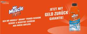 Mr Muscle Drano Power- Schaum Gratis Testen GZG
