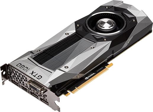 NVIDIA GeForce GTX 1080-Grafikkarte (direkt von NVIDIA)