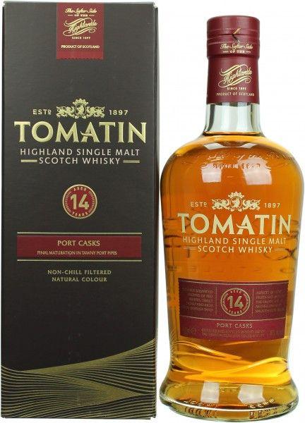 "[Amazon] Tomatin ""Old Port Wood Finish"" 14 Jahre - 46% - 0,7L Single Malt Whisky"
