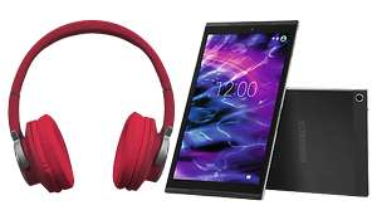 "[Medion] MEDION® LIFETAB® X10311 Tablet, 25,7 cm (10,1"") Full HD-Display, Android 7.0, 32 GB Speicher, LTE, Octa-Core-Prozessor, schwarz inkl. Bluetooth Kopfhörer"