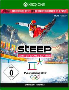 Steep: Winter Games Edition (Steep + Road to the Olympics) (Xbox One & PS4) für je 24,99€ (Otto & Amazon Prime)