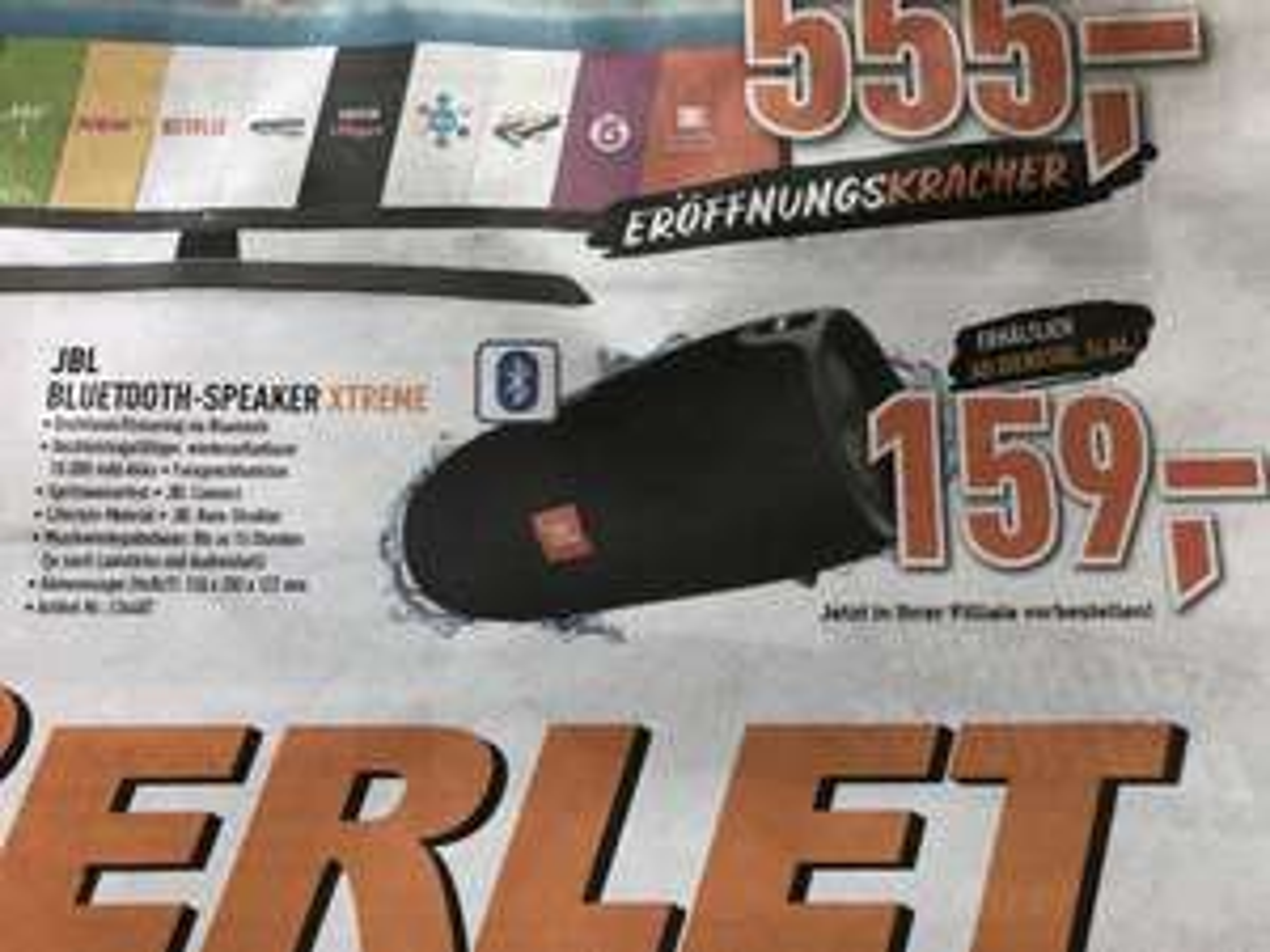 [BERLET, on+offline] JBL Xtreme Bluetooth-Speaker