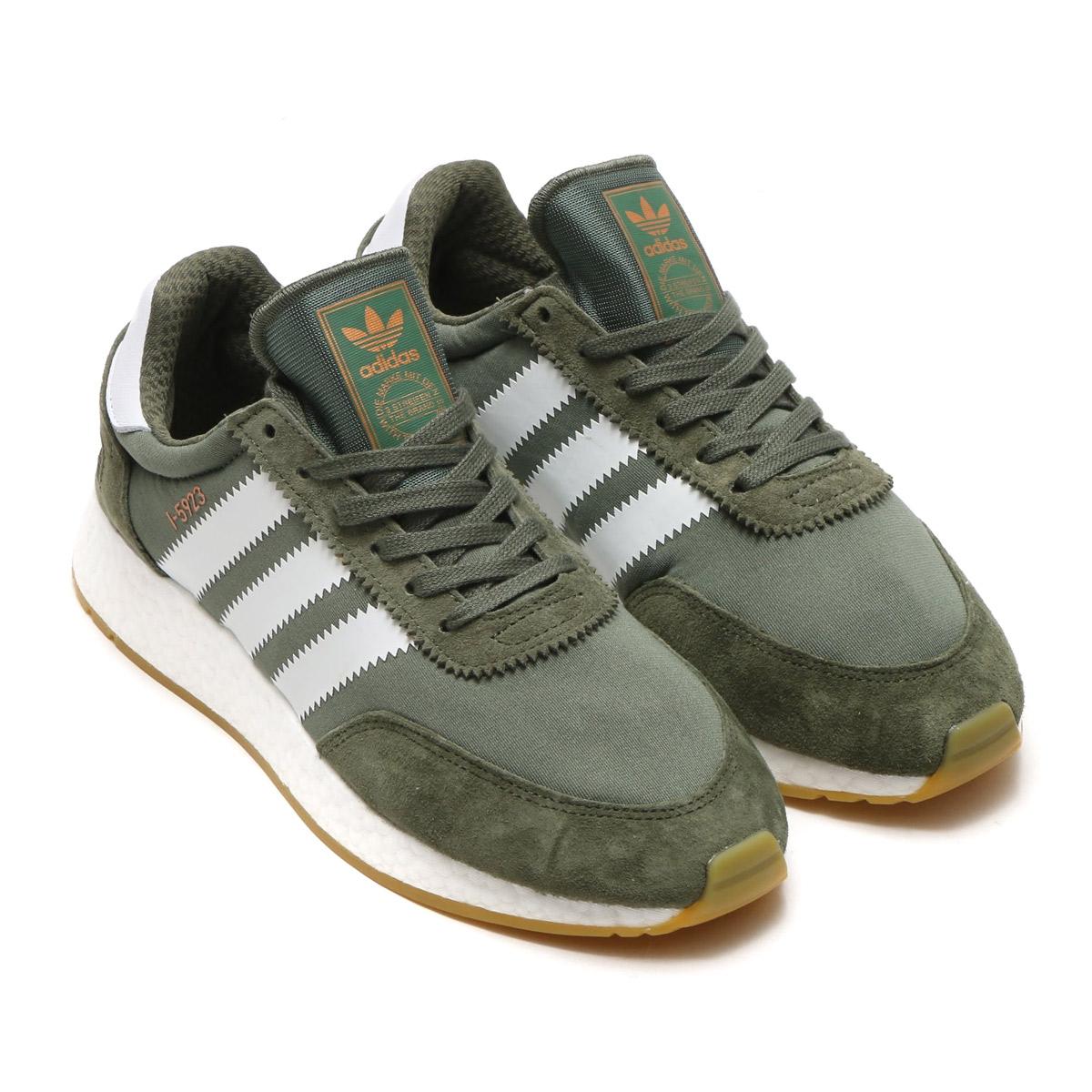"""adidas I-5923 in """"Base Green"""" und """"Mase""""für jew. 94,95€ bei Afew *Update*"""