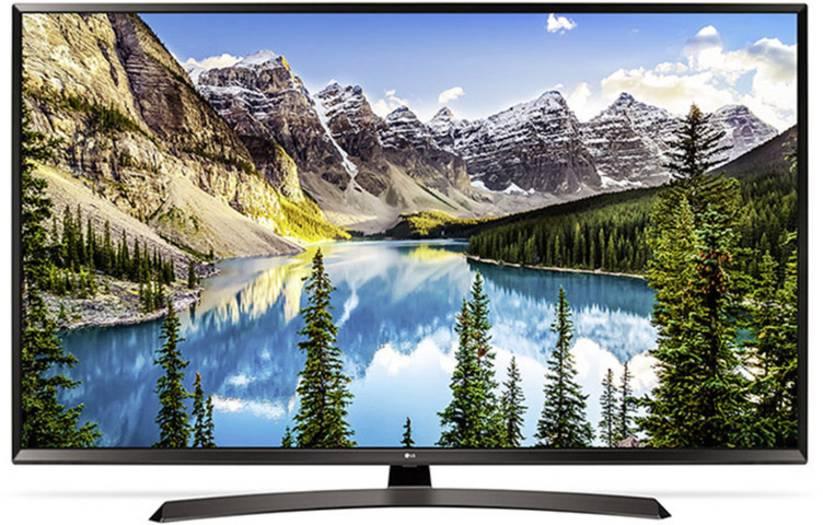 LG 49UJ635V 49 Zoll UHD LED Fernseher (Ultra HD, Triple Tuner, Active HDR, Smart TV)