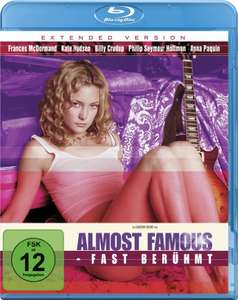 [Amazon Prime / Dodax] Almost Famous - Fast berühmt - Extended Version [Blu-ray]
