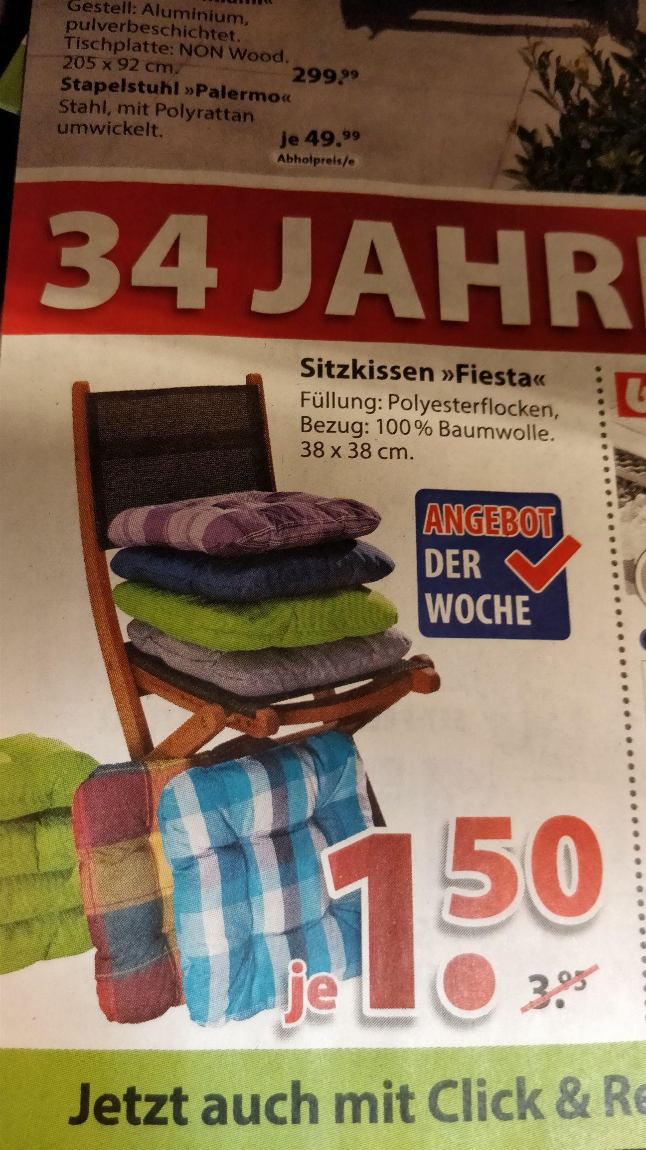 Dänisches Bettenlager - Sitzkissen