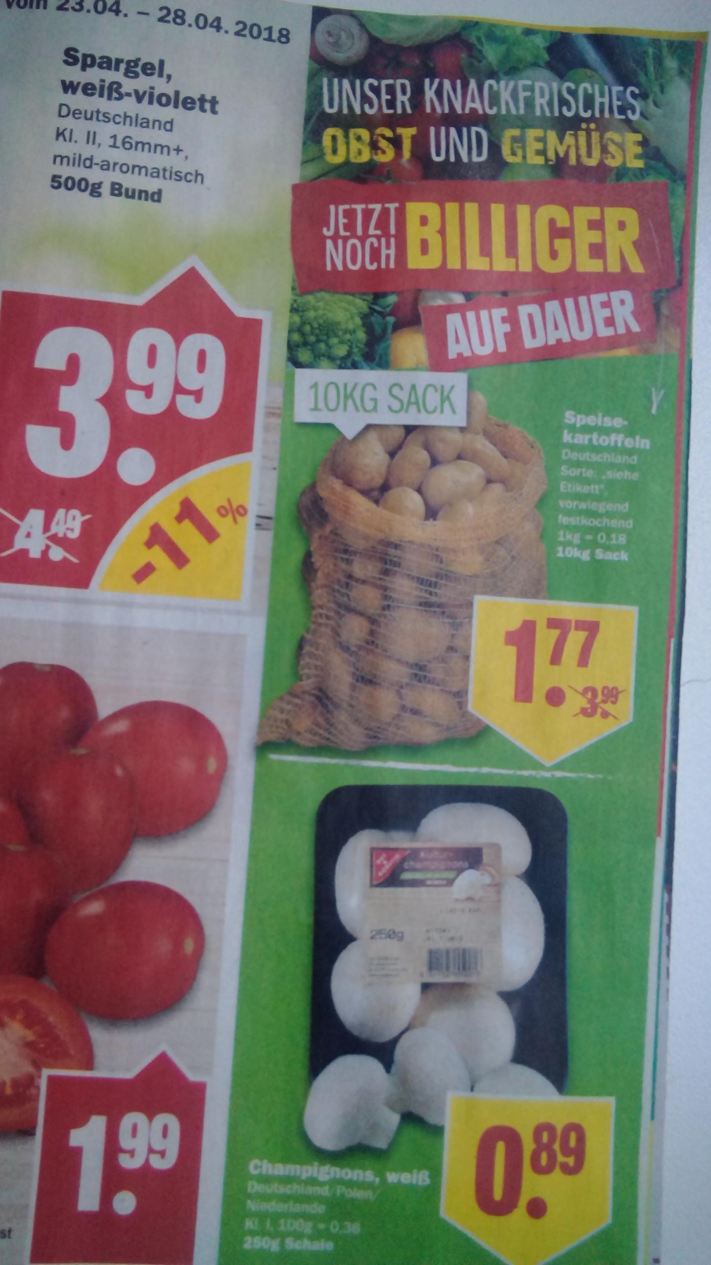 [Np Discount ab Mo 23.4] 10kg deutsche Kartoffeln vorwiegend festkochend