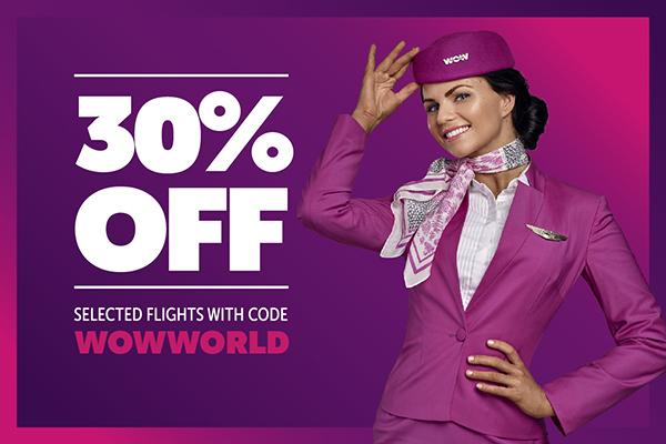 WOWair: bis zu 30% auf Flüge nach Nordamerika/Kanada / FRA - NY ab 255€ / FRA - LAX ab 349€