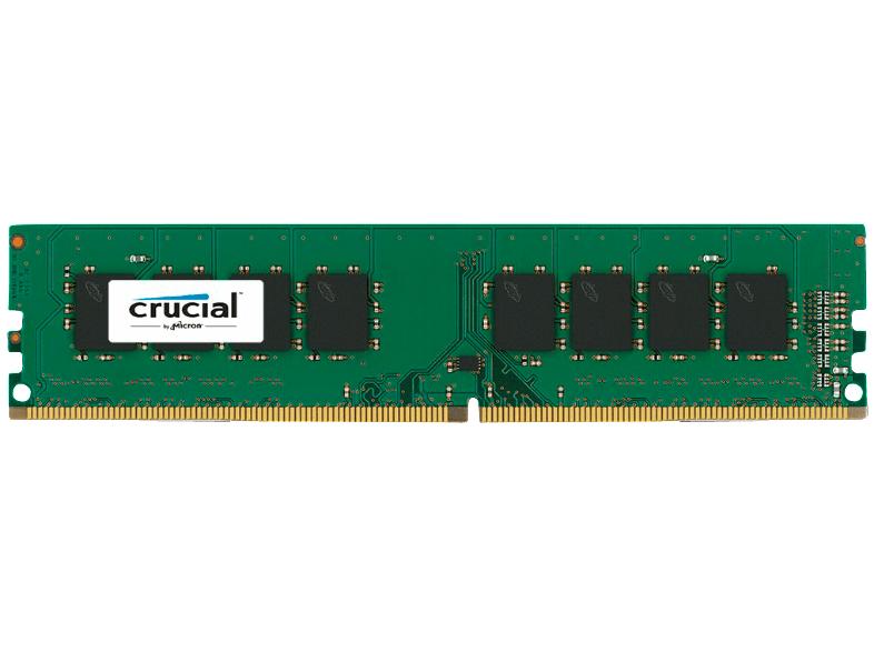 Crucial CT16G4DFD824A 16GB DDR4 2400 MHz (PC4-19200, CL17 1.2 V, DR x8 DIMM 288-Pin) Arbeitsspeicher für 129€ versandkostenfrei  (Media Markt)