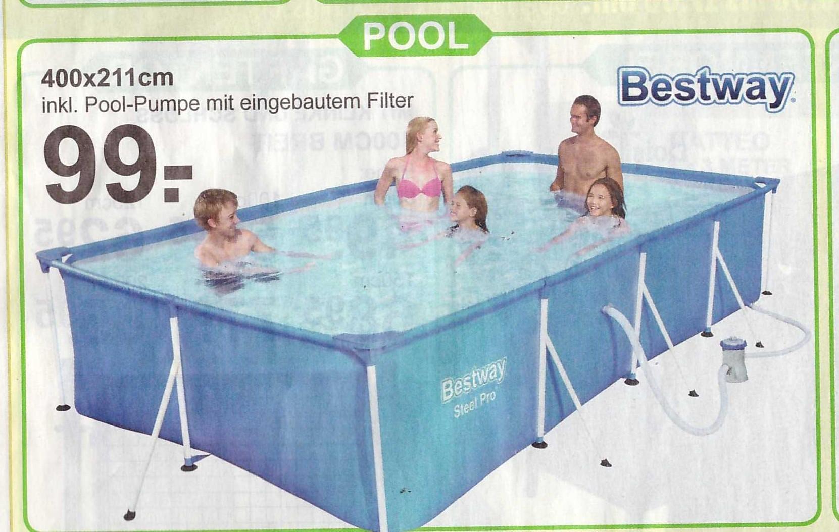 (LOKAL NL) Bestway Pool 400 x 211 für 99€ Van Cranenbroek