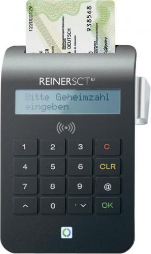 REINER SCT cyberJack RFID Komfort & Standard-Personalausweis-Leser