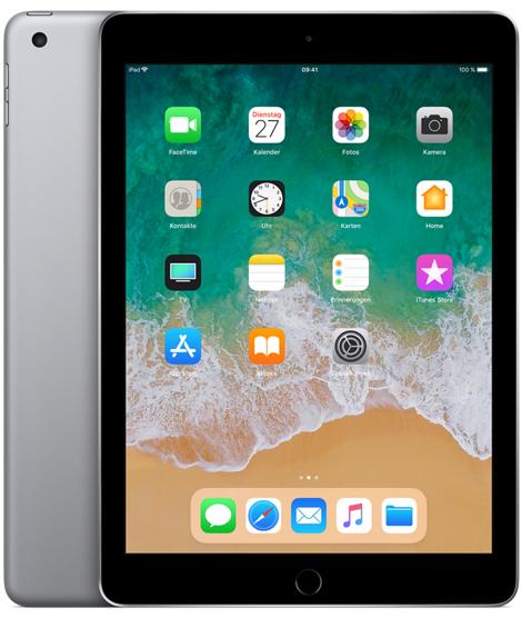 "[Schweiz Microspot] APPLE iPad (März 2018) WIFI, 9,7"", 32 GB – spacegrey"