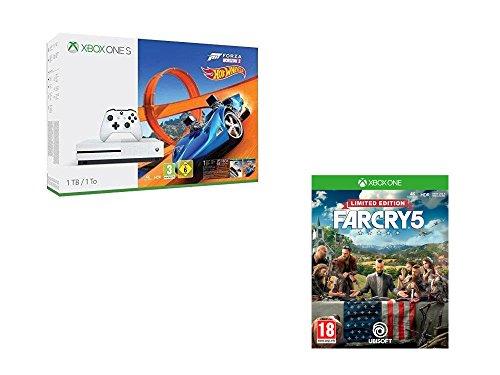 Xbox One S (1 TB) inkl. Forza Horizon 3 + Hot Wheels DLC Bundle + Far Cry 5 Limited Edition für 255,01€ (Amazon FR)