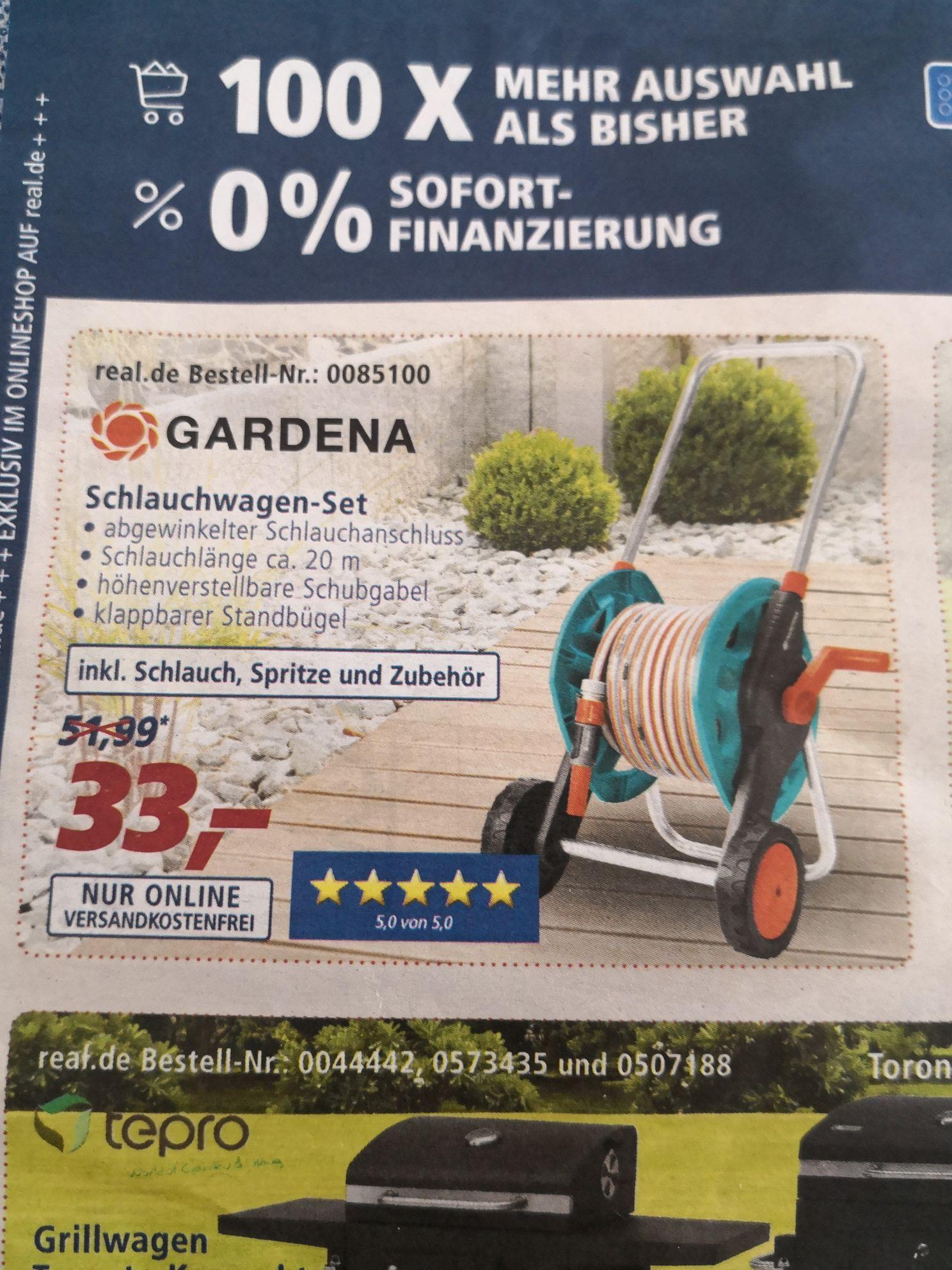 Gardena Schlauchwagen-Set 20 m (2692-20) bei Real online