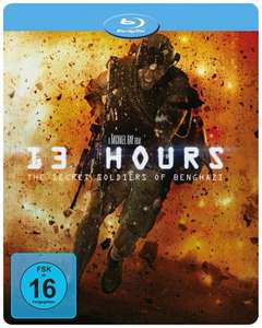 13 Hours The Secret Soldiers of Benghazi Limited Steelbook Edition (Blu-ray) für 11,96€ (Media-Dealer)
