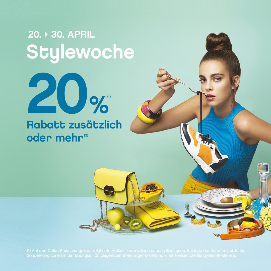 Lokal, Roppenheim(Frankreich) Style-Outlet 20% nochmals auf Outletprice oder mehr