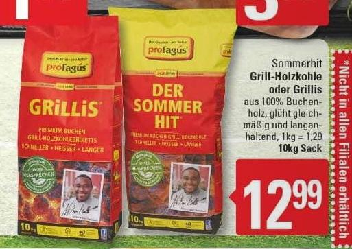 [Marktkauf Herford, Bünde, Löhne] Profagus Grillis/Holzkohle 10kg