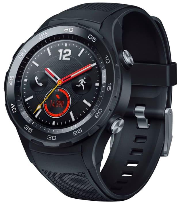 [Schweiz melectronics] HUAWEI WATCH 2 Smartwatch mit schwarzem Sportarmband (NFC, Bluetooth, WLAN, Android Wear™ 2.0)