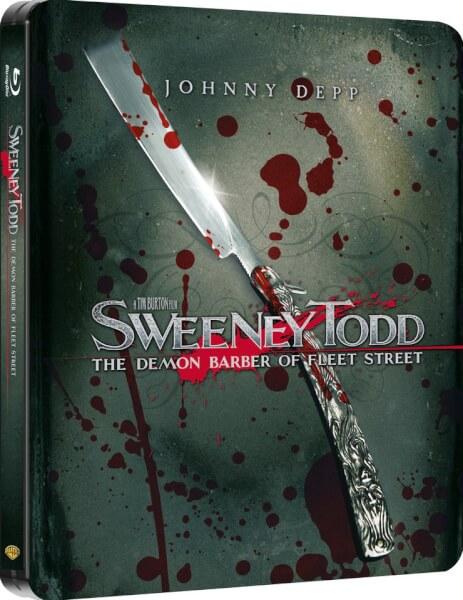 Sweeney Todd - Limited Edition Steelbook (Blu-ray) für 9,49€ (Zavvi)