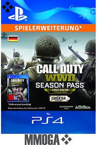 Call of Duty WWII / World War 2 - Season Pass für PlayStation 4 DLC Map Packs