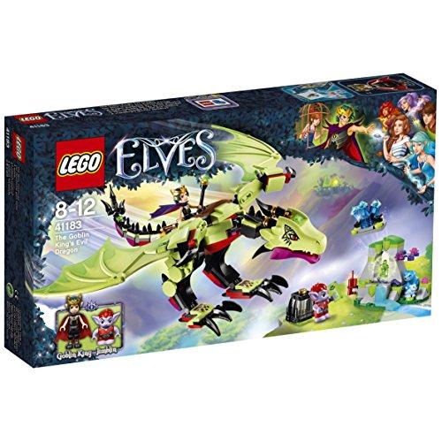 [Amazon Prime only] LEGO Elves 41183 - Der böse Drache des Kobold-Königs, Kreatives Spielzeug