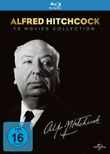 Alfred Hitchcock - Collection (15-Disc Set Blu-ray) für 34,43€ (Thalia)