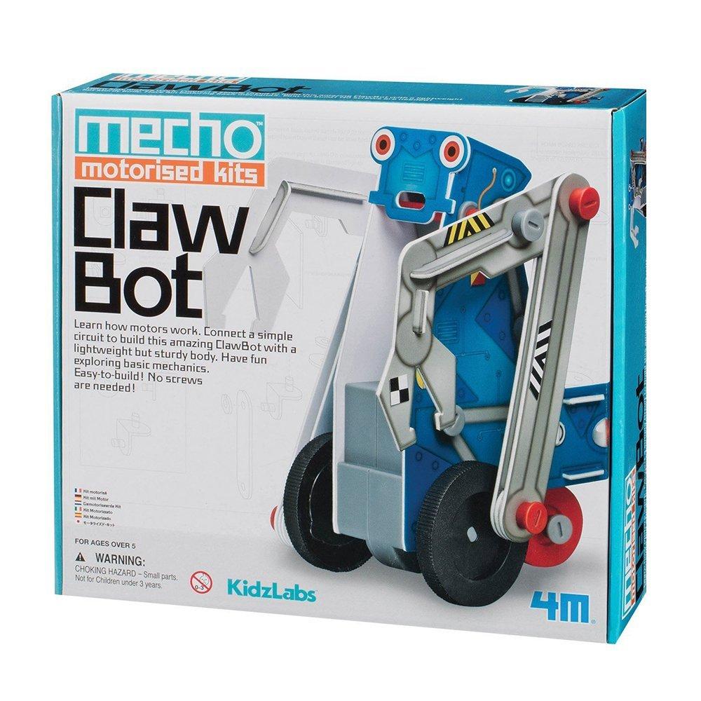 (Amazon Prime) Mecho Motorised Kits - Clawbot, Experimentierkästen 4M 68435