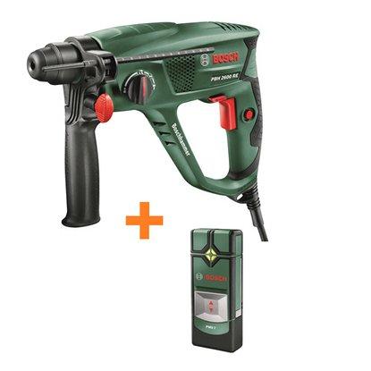 Bosch Bohrhammer PBH 2600 RE inkl. Ortungsgerät PMD 7