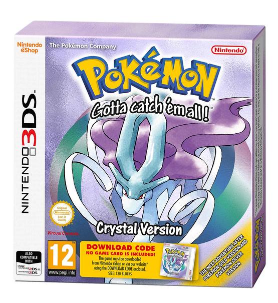 Pokemon Kristall Edition (3DS) für 7,82€ (ShopTo)