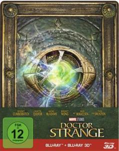 Doctor Strange 3D Steelbook Limited Edition (3D Blu-ray + Blu-ray) für 16,99€ (CeDe)
