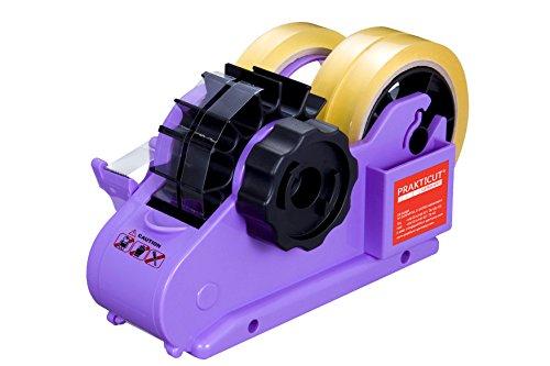 Plus Produkt bei Amazon Prakticut Germany SM74-VB Tischabroller, Kunststoff, violett, 21.8 x 8.5 x 12.5 cm 7,11 Euro
