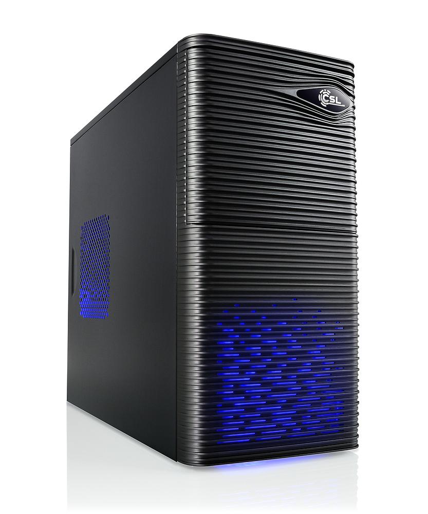Multimedia-PC mit Ryzen-APU (Ryzen 2400G [4K/8T], 8GB RAM DDR4-2666, 240GB SSD) für 383,90€ [CSL]