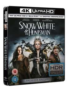 Snow White and the Huntsman - Extended Edition 4K (4K UHD + Blu-ray + UV Copy) für 12,40€ (Zoom.co.uk)