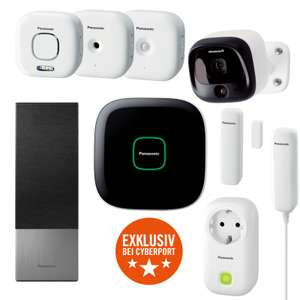 Panasonic komplettes Smart Home Starter Set
